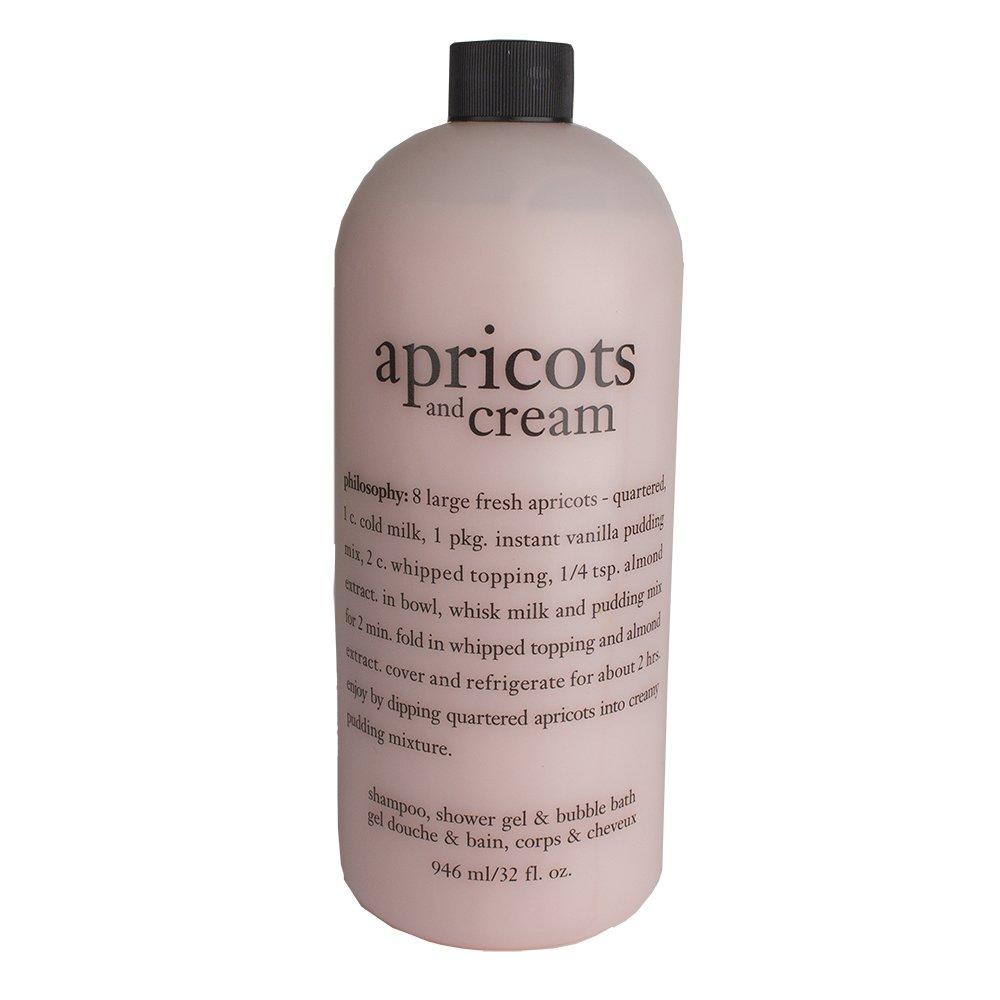 Amazon Com Philosophy Apricots And Cream Body Lotion 32