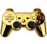 New Chrome Gold Wireless Controller Shell Cover