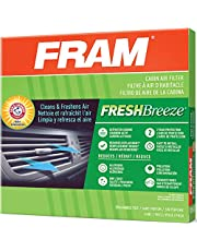 FRAM Fresh Breeze Cabin Air Filter with Arm & Hammer Baking Soda, CF10134 for Honda Vehicles, Package may vary , white