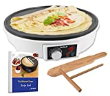 """12"""" Electric Crepe Maker by StarBlue with FREE"""