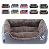 SEnjoyy Soft Warm Pet Bed Puppy Dog Mat Pad Cat Sleeping Cushion Suits for Daily Use(Grey XL)