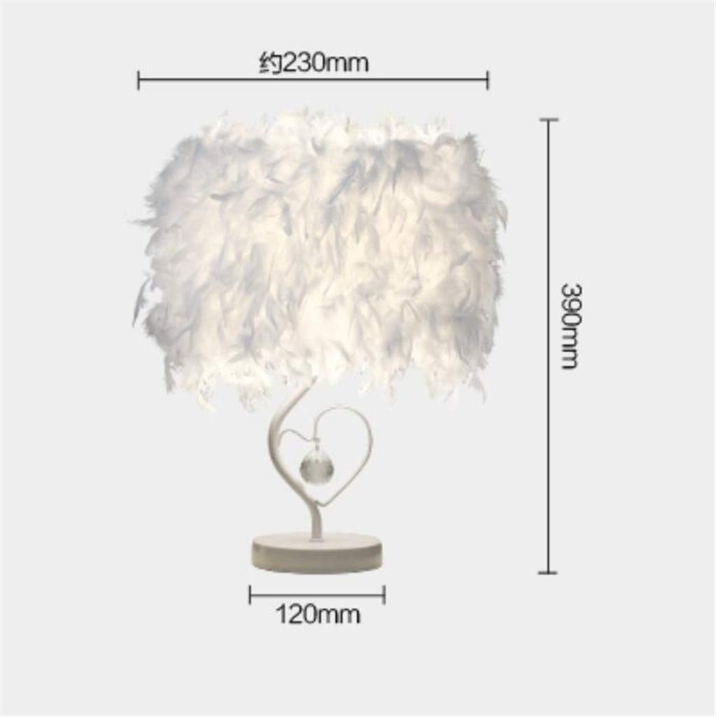 Feather Table Light, Bedside Bedside Bedside Reading Room Herzform Tischlampe mit Federnkristall,lila,touchswitch B07LCQLGH4 | Neues Produkt  1bf9b3