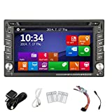 Electronics Windows 8 New Stereo Model 6.2 inch Double 2 Din PC in Dash GPS Car Stereo Car Audio DVD Player USB SD Bluetooth Motors Tv Mp3 Auto Radio Navigation AUX Monitor Player CD In-Dash Autoradio