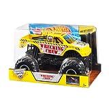 Hot Wheels Monster Jam Wrecking Crew Die-Cast Vehicle, 1:24 Scale