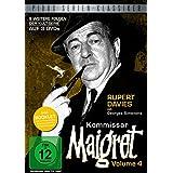 Kommissar Maigret, Vol. 4 / Weitere 9 Folgen der legendären Kultserie mit Rupert Davies nach dem Romanen von Georges Simenon