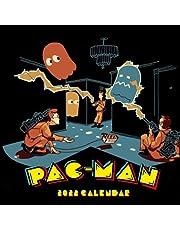 Pac-Man Doodle 2022 Calendar: Games calendar 2022-2023-18 months- Planner Gifts boys girls kids and all Fans BIG SIZE 17''x11''