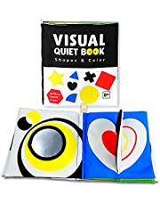 Richgv Baby Quiet Book, Soft Cloth Books for Babies baby's First Soft Books Early Development Soft Toys Learning to Sensory Book Identify Skill for Boys and Girls…