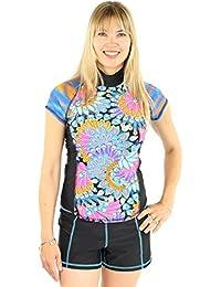 Girl S Rash Guard Shirts Amazon Com