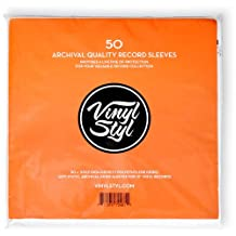 Vinyl StylTM Archive Quality Inner Record Sleeve