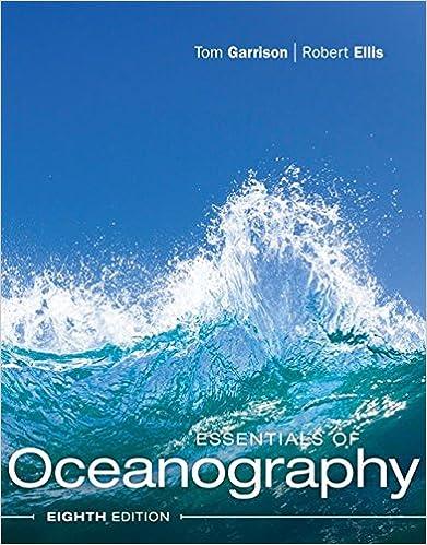 Essentials Of Oceanography Garrison Tom S Ellis Robert 9781337098649 Amazon Com Books
