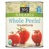 365 Everyday Value, Organic Whole Peeled Tomatoes, 28 oz