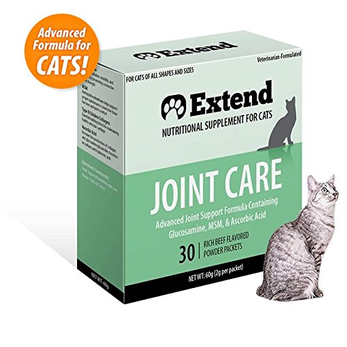 Extend Joint Care for Cats One Month Supply- Glucosamine for Cats