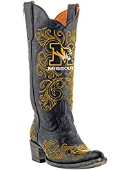 NCAA Missouri Tigers Womens 13-Inch Gameday Boots