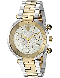 'Rêvive Chrono' Swiss Quartz Stainless Steel Casual Watch, Color:Two Tone (Model: VAJ050016)