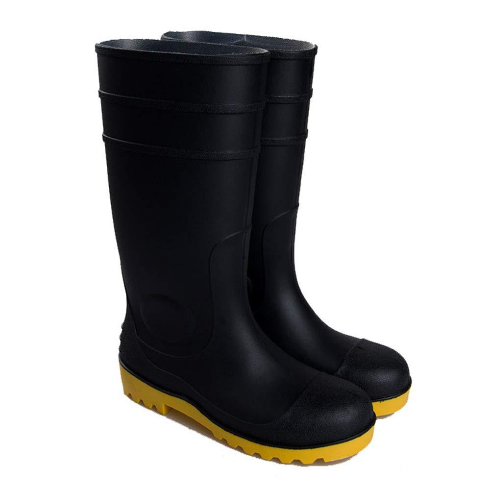 Wagsiyi Regenschuhe Schutzschuhe Schutzschuhe Regenschuhe Safe Foot Protective Regenstiefel Wterproof Regenstiefel Water Schuhes Anti-Rutsch-Regenstiefel (Größe : 40 2/3 EU) - 8621b2