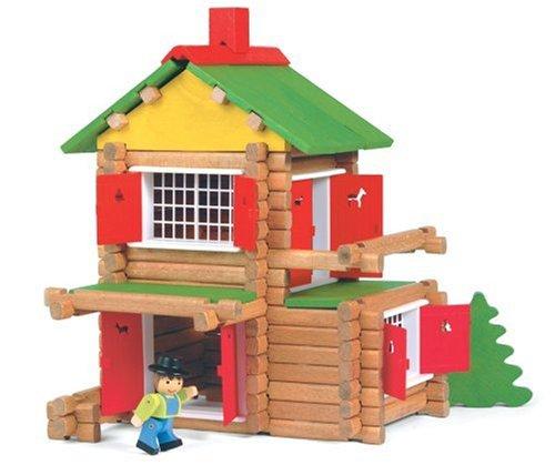 maison en bois jeu