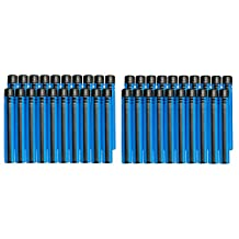 BOOMco. Smart Stick Darts, 40-Pack, Blue with Black Tip