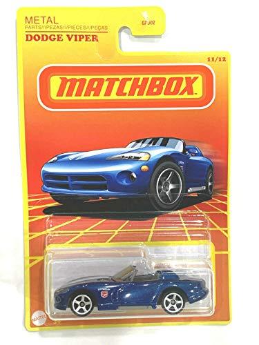 Matchbox Retro Series Wave2 Dodge Viper 11/12 (Blue)
