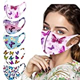 5PC Halloween Face Protection for Adults Reusable