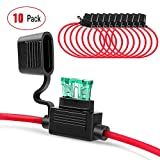Nilight 10 Pack NI-FH01 Inline Holder 14AWG