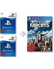 PSN Guthaben Aufstockung für Far Cry 5 Deluxe - PSN Guthaben Far Cry 5 Deluxe Edition   PS4 Download Code - deutsches Konto