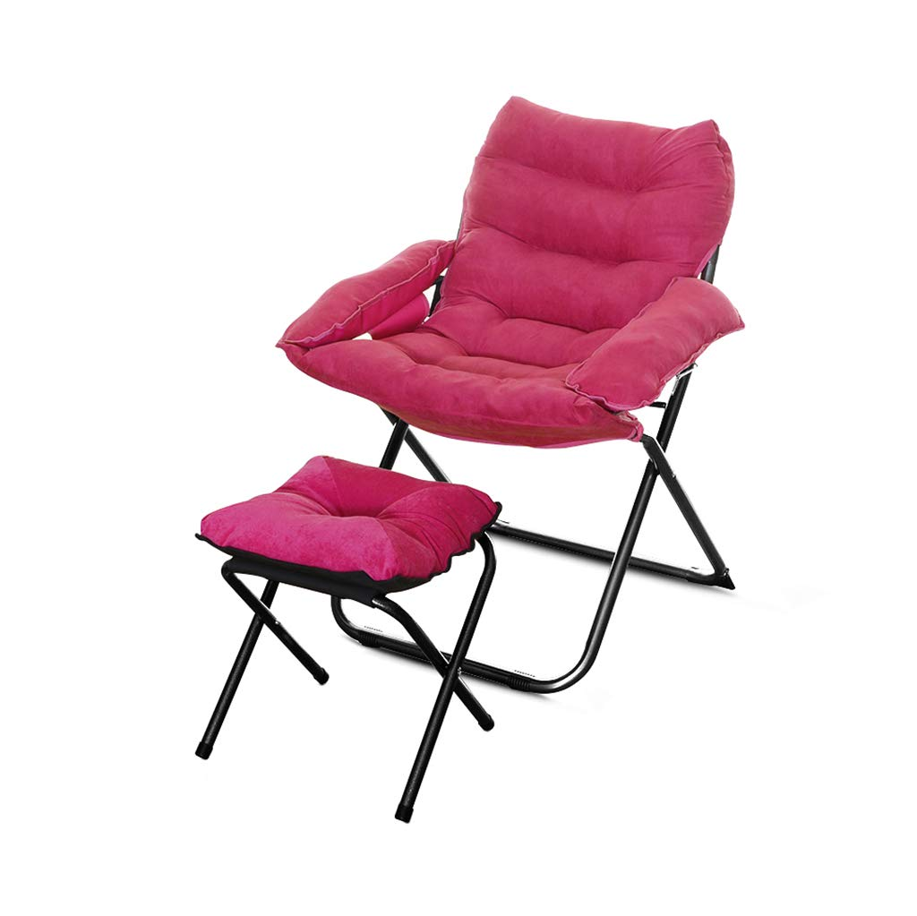Sofa Chair, Multifunzione Creativo Lounge Chair Multifunzione Soggiorno Pieghevole Sedia dormitorio Balcone Computer Chair (colore    4)