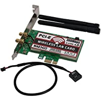 MEXUD-Dual-Band 300Mbps PCI-e PCI Express Card Bluetooth 4.0 Network Wlan WiFi Adapter
