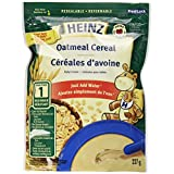 HEINZ Oatmeal Cereal,  6 Pack, 227G Each