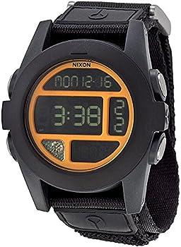 Nixon Mens A489 Baja 50mm Polycarbonate Watch