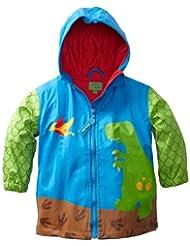 Stephen Joseph Rain Coat, Dino, 3T, Blue