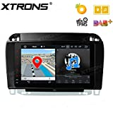 XTRONS 8 Inch Android 8.0 Octa Core 4G RAM 32G ROM Multi Touch Screen Car Stereo Player GPS DVR Wifi TPMS OBD2 for Mercedes Benz S W220 S280 S430 S500