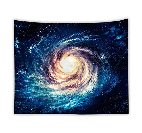 BeGrit Galaxy Wall Tapestry 3D Printing Stars Tablecloth Sheet Art Classic Wall Hanging Tapestries for Living Room Bedroom Dorm 150x100cm
