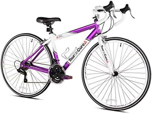 Tour de Cure Women's 700 C Road Bike, Purple, 17.25