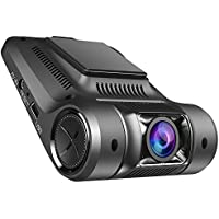 Vikcam Dash Cam, Dashbord Car Camera Recorder FHD 1080P with 2.45 Screen and Sony Senor, 170 Wide Angle Lens Car DVR Built-In WiFi ,G-Sensor, WDR, Loop Recording and Supreme Night Vision
