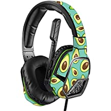 MightySkins Skin Compatible with PDP Xbox One Afterglow LVL 3 Headset - Seafoam Avocados | Protective, Durable, and Unique Vinyl wrap Cover | Easy to Apply, Remove | Made in The USA