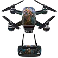 Skin for DJI Spark Mini Drone Combo - Eagle Nebula| MightySkins Protective, Durable, and Unique Vinyl Decal wrap cover | Easy To Apply, Remove, and Change Styles | Made in the USA