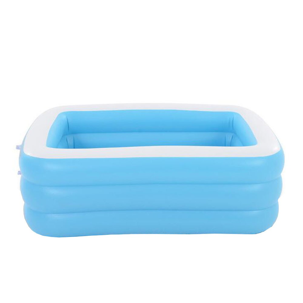 LIJUN Piscina Inflable PVC Family Adult Inflatable Three Rings Rings Rings Piscina Grande para Nintilde;os Baby Play Pool Blue-262  175  60cm 8caa78