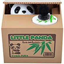 MUCH Stealing Coin Panda Box Piggy Bank Panda Bear - Great Gift for Any Child