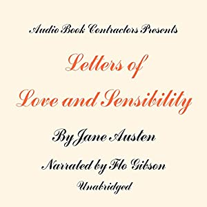 Letters of Love and Sensibility Hörbuch