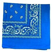 Bandana - Classic Paisley Headscarf (12-pack)