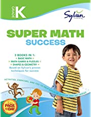 Kindergarten Jumbo Math Success Workbook: 3 Books in 1 --Basic Math, Math Games and Puzzles, Shapes and Geometry; Activities, Exercises, and Tips to Help You Catch Up, Keep Up, and Get Ahead