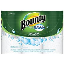 """Bounty PGC92379CT Paper Towels with Dawn, 2-Ply, 11"""" x 14"""", 49 Per Roll, 3 Pack"""