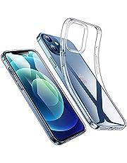 "NEW'C Skal Kompatibelt med iPhone 13, iPhone 13 Pro (6,1""), transparent mjuk silikon TPU gel stötfångare premium skyddande fodral, HD Klar"