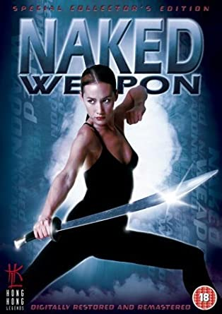 weapon naked Maggie q