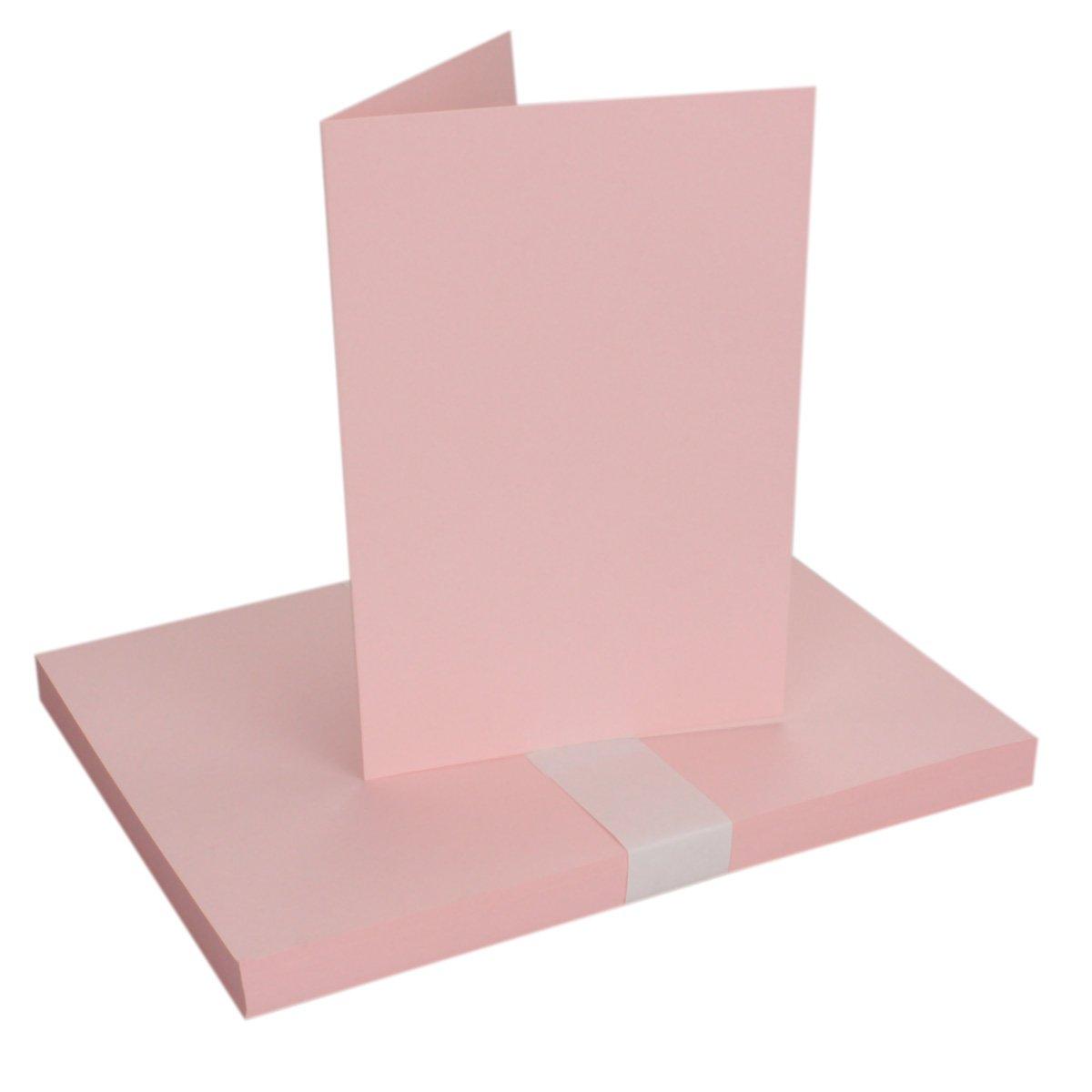 250x Falt-Karten Falt-Karten Falt-Karten DIN A6 Blanko Doppel-Karten in Hochweiß Kristallweiß -10,5 x 14,8 cm   Premium Qualität   FarbenFroh® B079VGH13Q | Spielzeugwelt, glücklich und grenzenlos  18921b