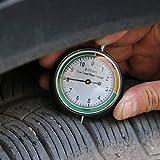 Shentesel Car Wheel Tyre Pressure Tread Depth Gauge Meter Tire Condition Monitor Universal