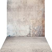 KonPon 5x10ft Silk Cloth Concrete Wall Bacground For Studio Props KP-009