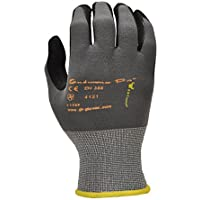 GF Gloves 1529L-12 Endurance Pro Seamless Knit Nylon Gloves with Micro Form Nitrile Grip, Large by GF Gloves