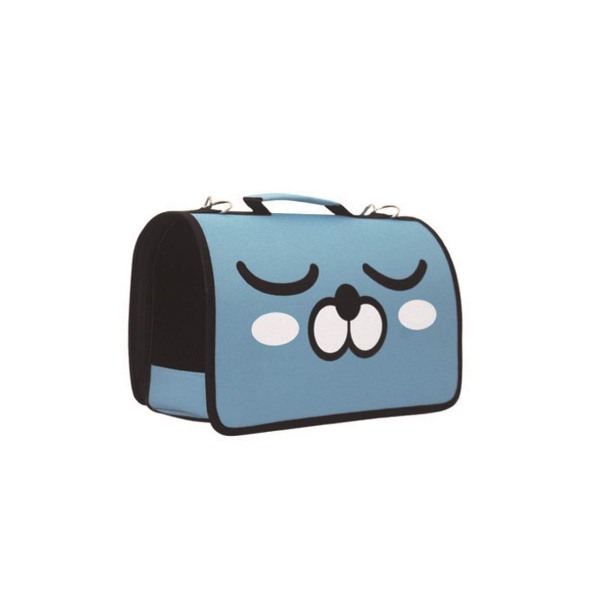 bluee L bluee L Pet Carrier, Cat Out Carrier, Carrying Bag, Red, Black, bluee, Light bluee, Green (color   bluee, Size   L)
