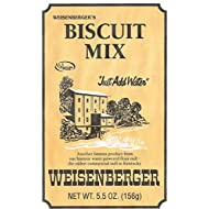 Buttermilk Biscuit Mix Weisenberger Mills Just Add Water A Ky Proud Product 5.5 Ounce Ea Pack of 3